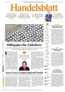 Handelsblatt - 10 September 2020