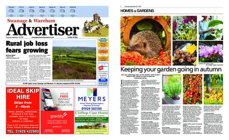 Swanage & Wareham Advertiser – September 10, 2020