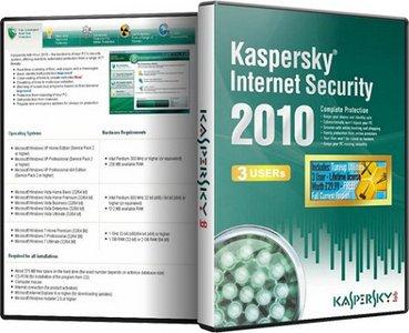 Kaspersky Anti-Virus and Kaspersky Internet Security 2010 Build 9.0.0.736 CF2 Multilingual (2010)