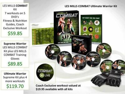 Les Mills Combat - Ultimate Warrior Kit