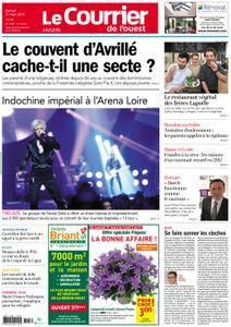 Le Courrier de l'Ouest Angers - 31 mars 2018