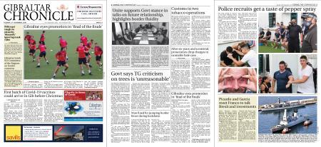 Gibraltar Chronicle – 17 November 2020