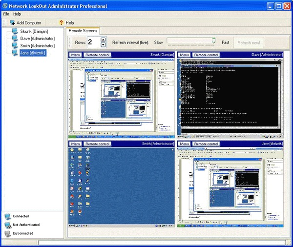 Network LookOut Administrator Professional 3.7.1