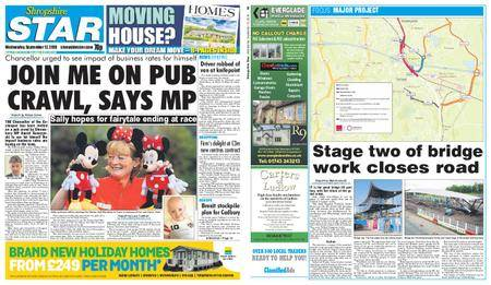Shropshire Star Shrewsbury Edition – September 12, 2018