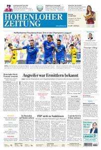 Hohenloher Zeitung Öhringen - 14. Mai 2018