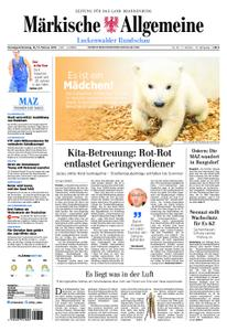 Märkische Allgemeine Luckenwalder Rundschau - 16. Februar 2019