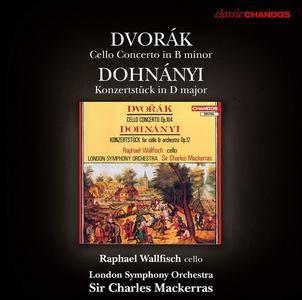 Raphael Wallfisch, LSO, Charles Mackerras - Dvořák: Cello Concerto, Dohnányi: Konzertstück (2012) (Repost)