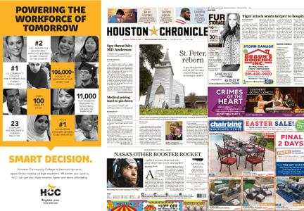 Houston Chronicle – April 21, 2019