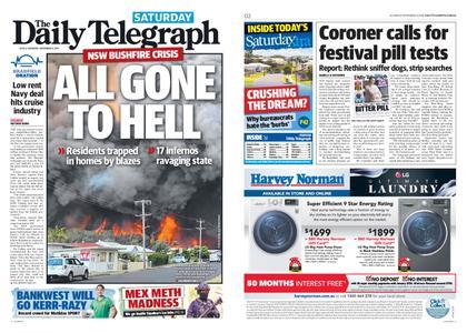 The Daily Telegraph (Sydney) – November 09, 2019