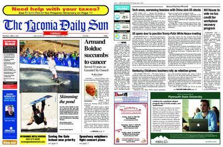 The Laconia Daily Sun – April 03, 2018