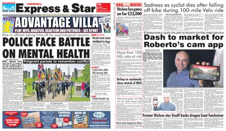 Express and Star Sandwell Edition – May 13, 2019