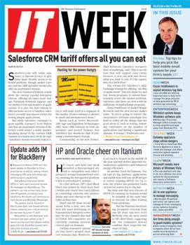 IT Week Magazine. March 6, 2006