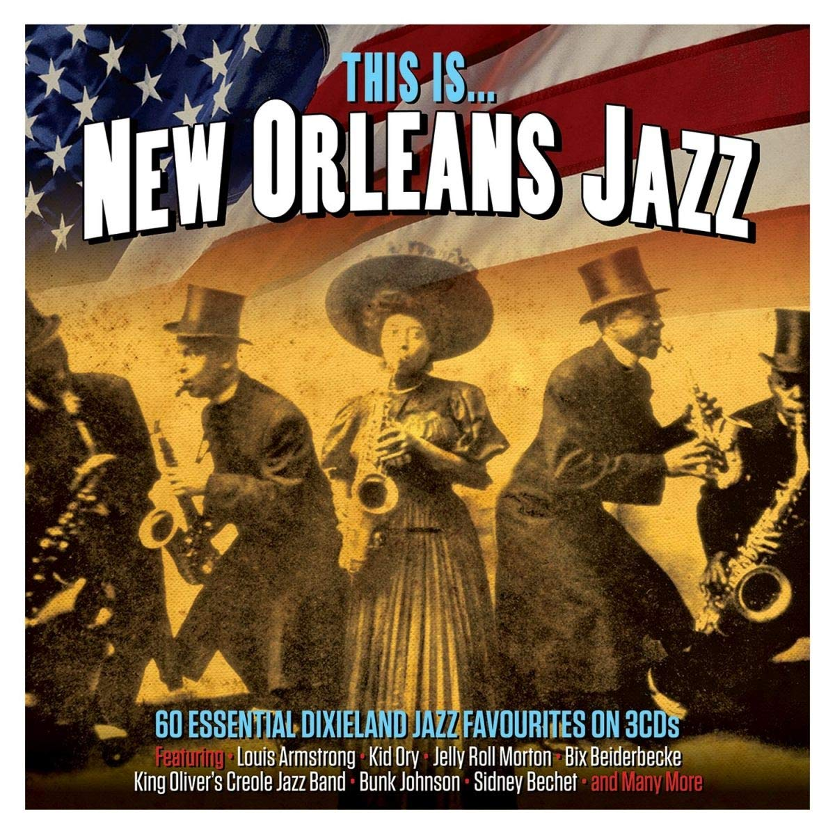 VA - This Is… New Orleans Jazz (3CD, 2019)
