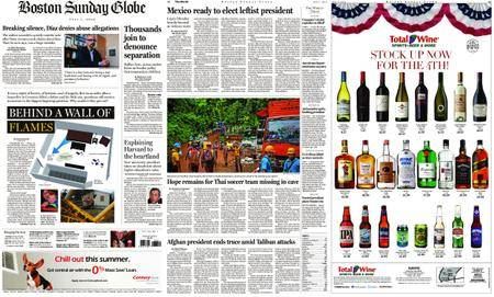 The Boston Globe – July 01, 2018