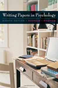 Custom Enrichment Module: Writing Papers in Psychology (Repost)