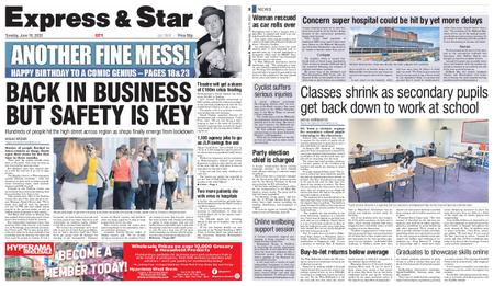 Express and Star City Edition – June 16, 2020