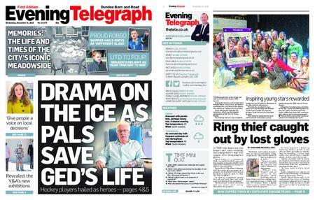 Evening Telegraph First Edition – November 21, 2018