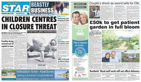 Shropshire Star Shrewsbury Edition – April 25, 2018
