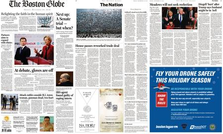 The Boston Globe – December 20, 2019