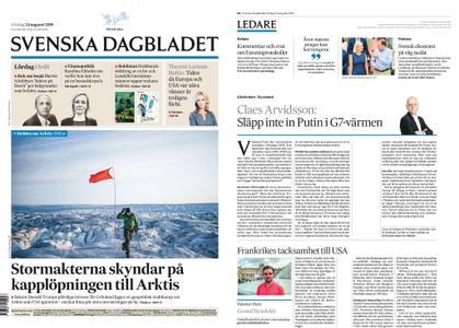 Svenska Dagbladet – 24 augusti 2019
