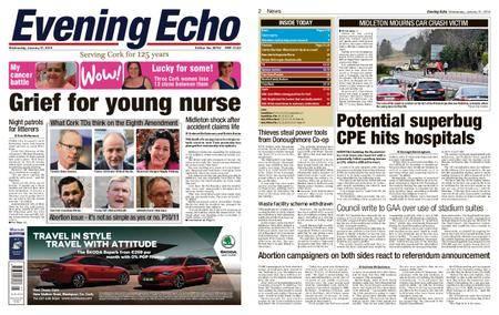 Evening Echo – January 31, 2018
