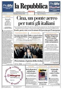 la Repubblica - 2 Febbraio 2020