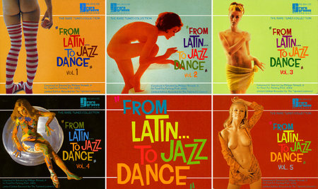 VA - From Latin... To Jazz Dance, Volume 1-5 (2003) 5 CD [Re-Up]