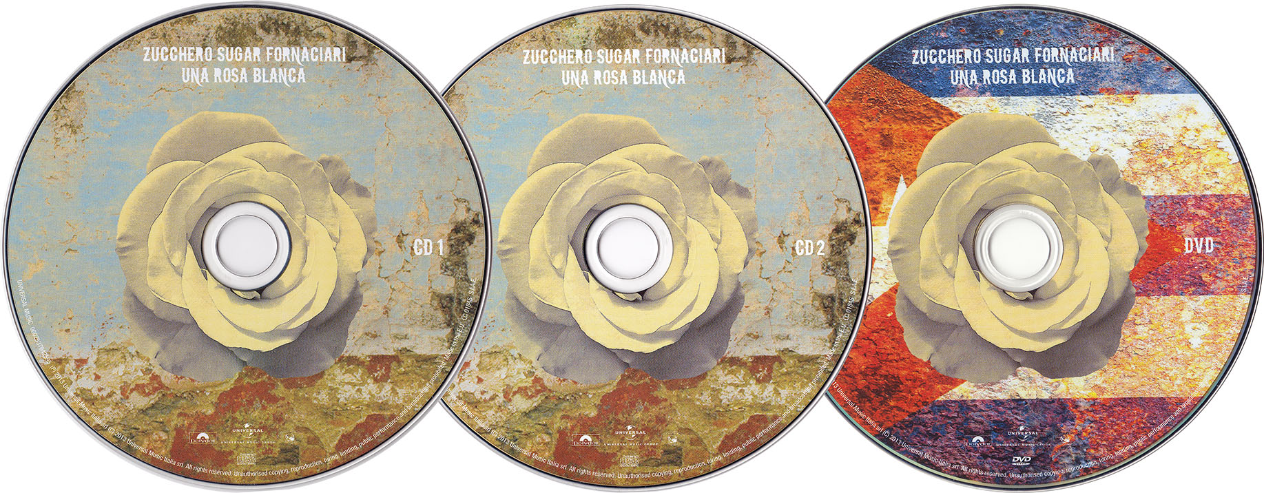 Zucchero Sugar Fornaciari - Una Rosa Blanca (2013) 2CD + DVD9 [Re-Up]