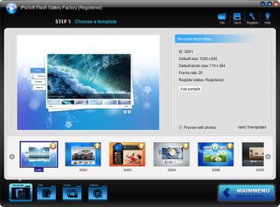 iPixSoft Flash Gallery Factory 3.0.0 Portable