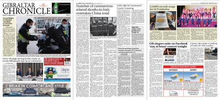 Gibraltar Chronicle – 20 March 2020
