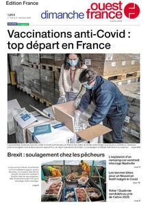 Ouest-France Édition France – 27 décembre 2020