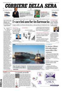 Corriere della Sera - 30 Marzo 2021