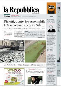 la Repubblica - 30 Gennaio 2019
