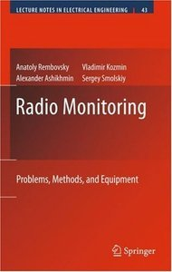Radio Monitoring: Problems, Methods and Equipment (repost)
