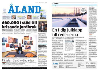 Ålandstidningen – 24 november 2018