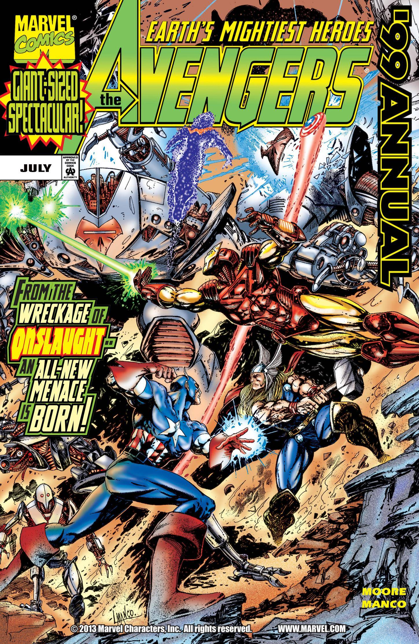 New Releases 2015 3 14 Avengers Annual 99 1999 digital-hd Kleio-Empire cbz