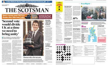 The Scotsman – December 17, 2018