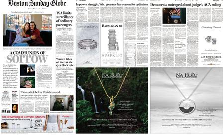 The Boston Globe – December 16, 2018