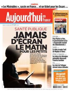 Aujourd'hui en France - 14 Janvier 2020