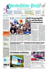 Oberhessische Presse Marburg/Ostkreis - 16. März 2019