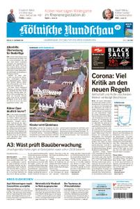 Kölnische Rundschau Euskirchen – 27. November 2020