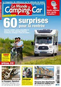 Le Monde du Camping-Car - août 2017