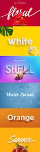 Set of 6 Text Effect