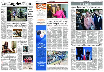 Los Angeles Times – June 12, 2019