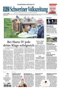 Schweriner Volkszeitung Hagenower Kreisblatt - 18. Mai 2019