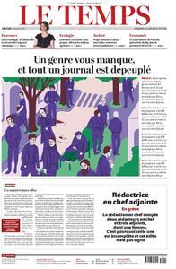 Le Temps - 14 juin 2019
