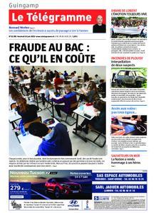 Le Télégramme Guingamp – 14 juin 2019