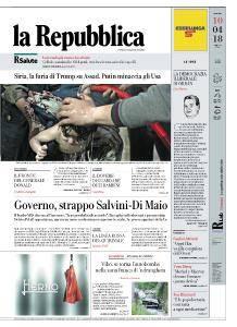 la Repubblica - 10 Aprile 2018