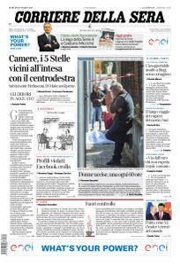 Corriere della Sera - 20 Marzo 2018