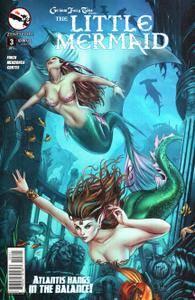 Grimm Fairy Tales Presents The Little Mermaid 0032015 2 covers Digi-Hybrid